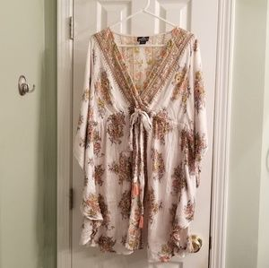 Boho Wing Sleeve Dress